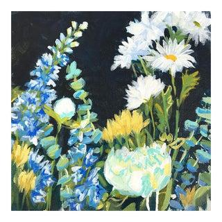 """Expressionist Flower """"Garden 3"""" Painting"""