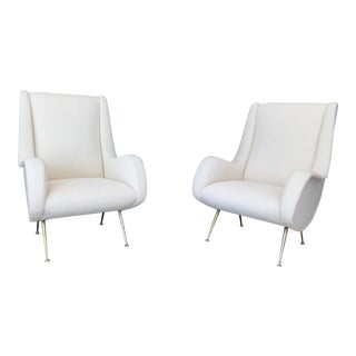 Gigi Radice Italian Armchairs - A Pair For Sale