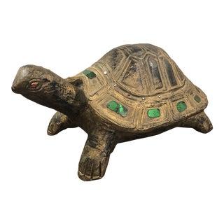 Vintage Florentine Turtle Figurine For Sale