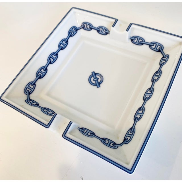 Traditional Hermes Chaine D' Ancre Dish For Sale - Image 3 of 6