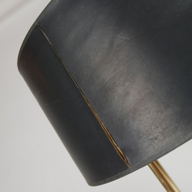 Brass Tommi Parzinger Originals Model 19 Table Lamp in Brass For Sale - Image 7 of 12