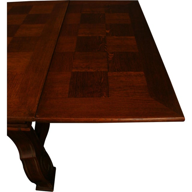 Vintage French Renaissance-Style Dining Table For Sale - Image 11 of 12