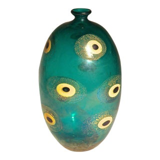 Murano Vase by Guilio Radi for A.v.e.m. Glassworks, Italy 1948 For Sale