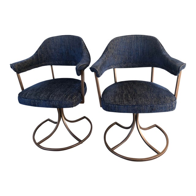 Phenomenal Pair Of California Tulip Swivel Accent Chairs Unemploymentrelief Wooden Chair Designs For Living Room Unemploymentrelieforg
