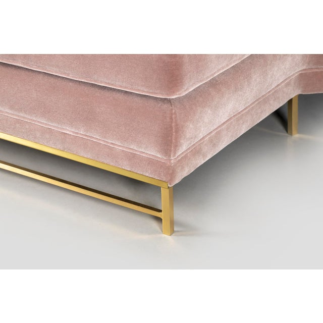 Rose Paul McCobb for Directional Sectional Sofa For Sale - Image 8 of 10