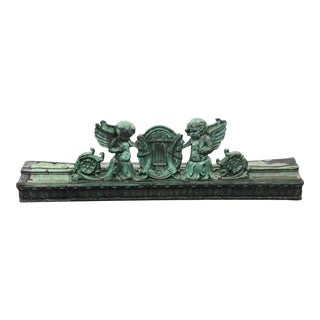 Late 19th Century Beaux-Arts Copper Architectural Building Ornament For Sale