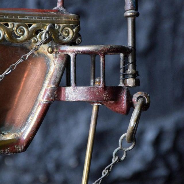 19th Century Votive Copper Sea Vessel For Sale - Image 4 of 13