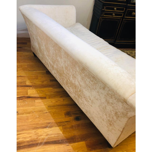 Dapha Upholstery Beige Sofa For Sale - Image 9 of 13