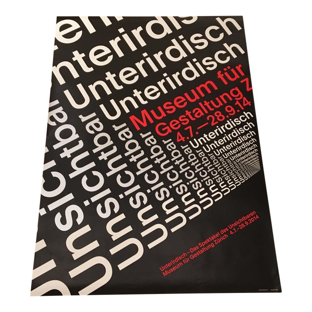Modern Swiss Helvetica Poster - Image 1 of 6