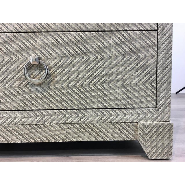 Bungalow 5 Bungalow 5 Modern Tweed Brittany Chest of Drawers For Sale - Image 4 of 6
