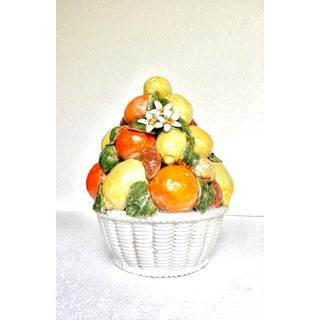 Majolica Lemon & Orange Basket Preview