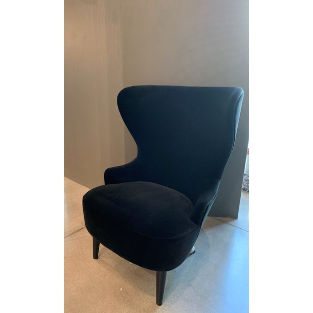 Mid-Century Modern Tom Dixon Micro Wingback Chair For Sale - Image 3 of 11