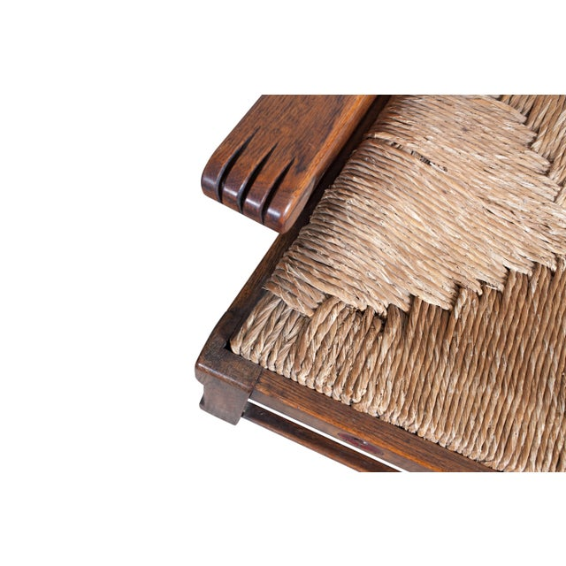 Sculptural Arts & Crafts Lounge Chair For Sale - Image 6 of 9