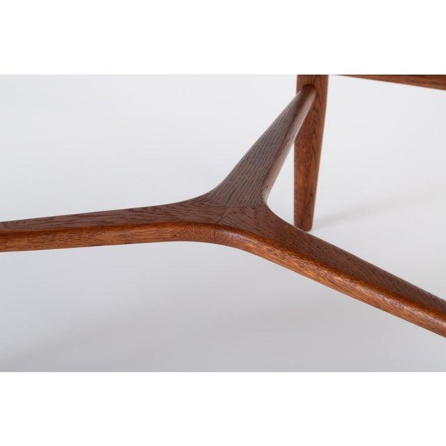 "Scandinavian Modern Teak ""Guitar Pick"" Side Table For Sale - Image 11 of 13"