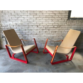 "1930s Vintage Vitra Jean Prouve ""Cite"" Lounge Chairs - a Pair Preview"