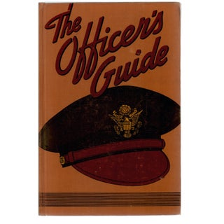 """The Officer's Guide"" Hardcover Book"