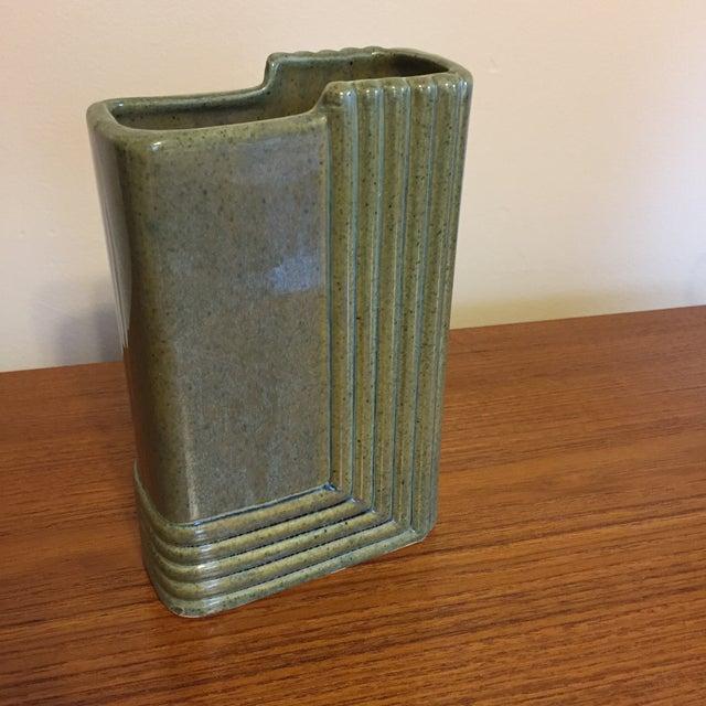 Brush Mid-Century Art Deco Style Ceramic Vase - Image 5 of 6