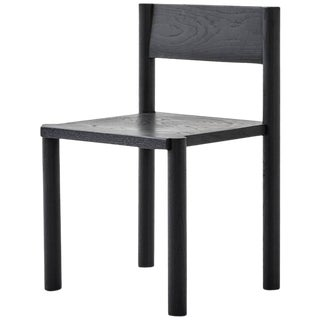 Wc6 Chair by Ash Nyc in Black Oak For Sale