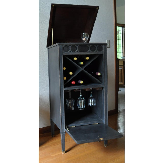 Antique Edison Phonograph Dry Bar For Sale - Image 10 of 13