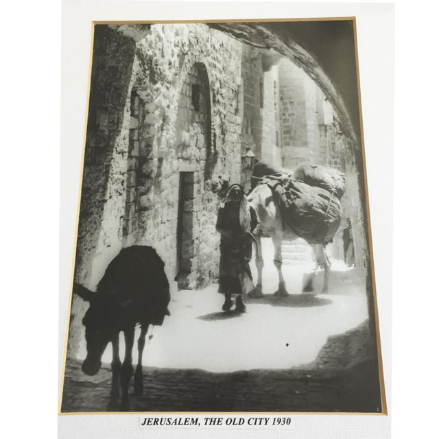 Tan Photograph Jerusalem,The Old City 1930 For Sale - Image 8 of 9