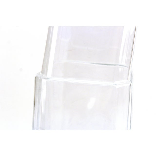 Denizli Modern Stacked Leaning Glass Vase For Sale In New York - Image 6 of 10