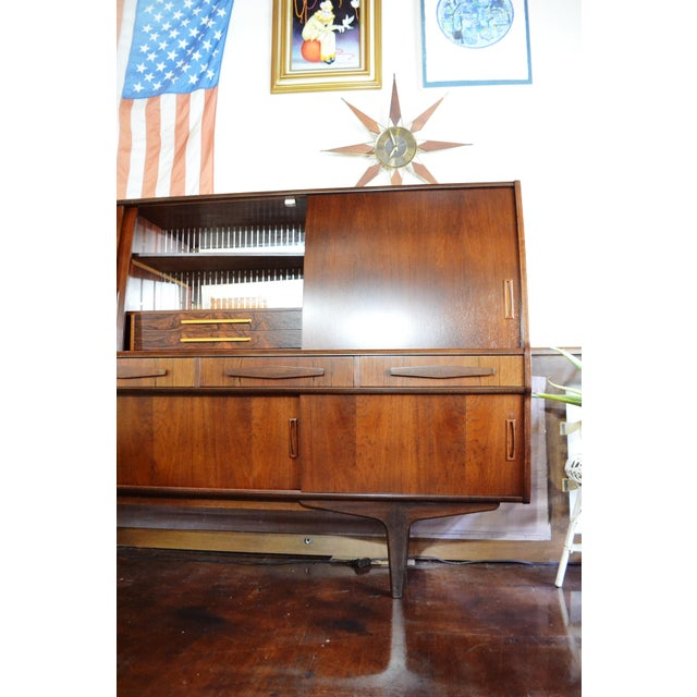 Danish Modern Rosewood Credenza by Poul M Jessen for Pmj Viby For Sale - Image 9 of 13