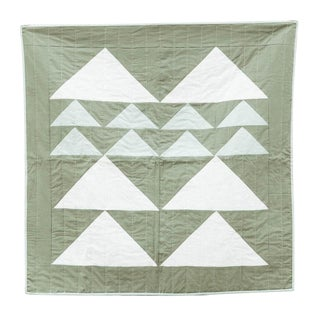Mountain Crib Quilt in Forest