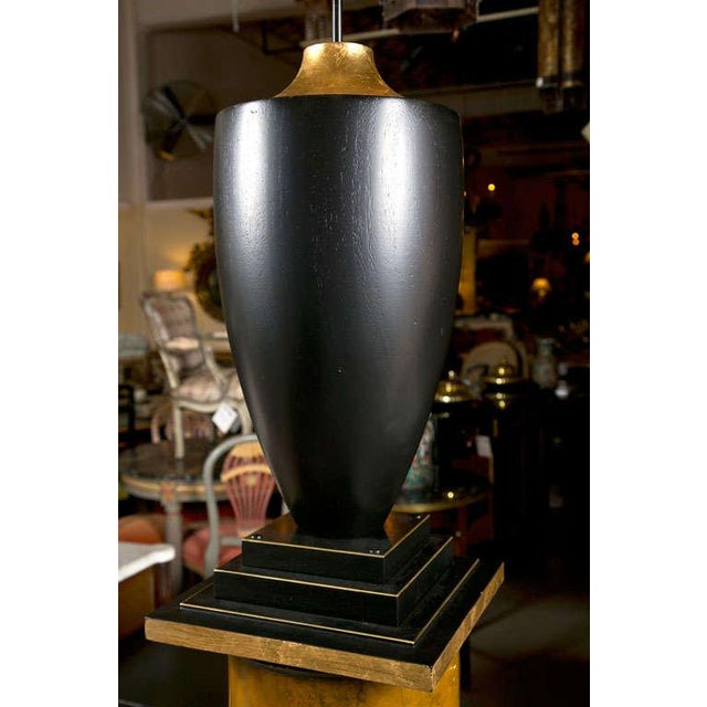 Late 20th Century Lamps on Column Pedestals - A Pair For Sale - Image 5 of 8