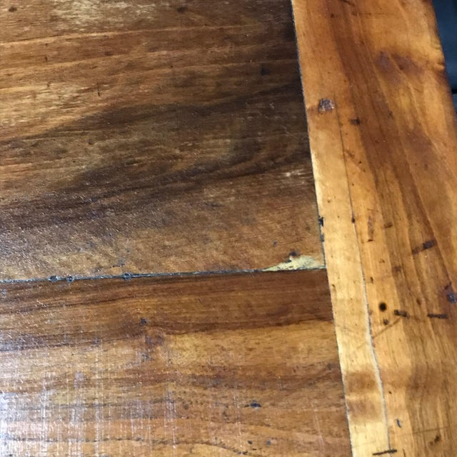 Wood Antique French 19th Century Walnut Dining Table For Sale - Image 7 of 13