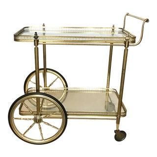 Vintage Maison Jansen French Bar Cart