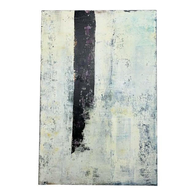 "Original Oil Painting Titled, ""Winter Prolepsis,"" by Marceau Verdiere For Sale"