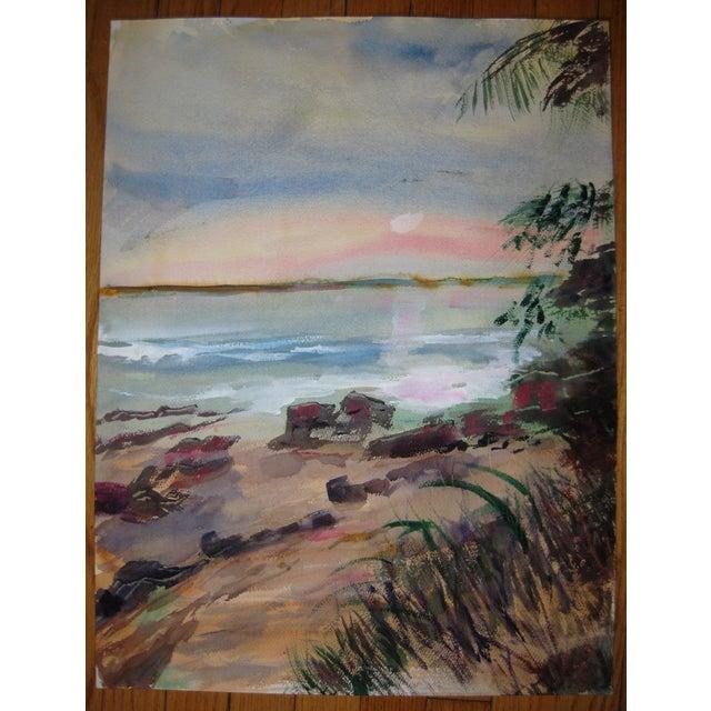 Original Alice J.Behrle Water Color Painting - Image 3 of 3