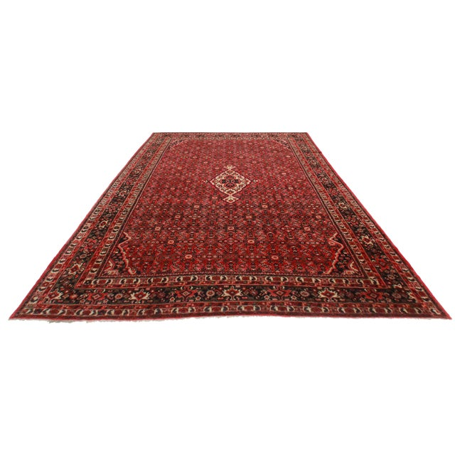 "Persian Hassan Abad Rug - 11' x 13'8"" - Image 2 of 2"