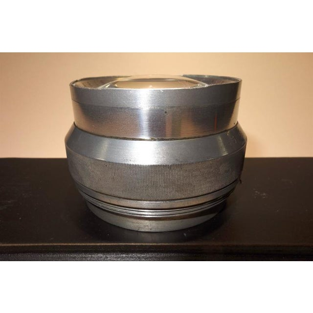 Art Deco Rare Early 20th Vintage Large Format Photographic Lens. Display As Sculpture. For Sale - Image 3 of 3