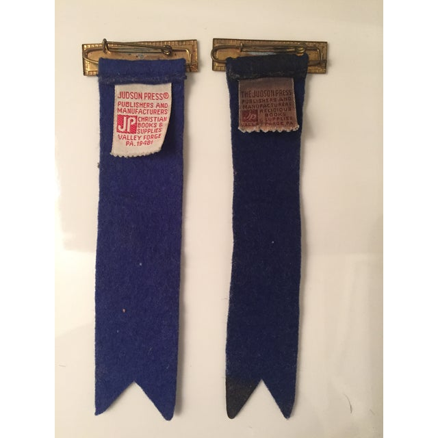 Vintage Usher Pins - A Pair - Image 3 of 6