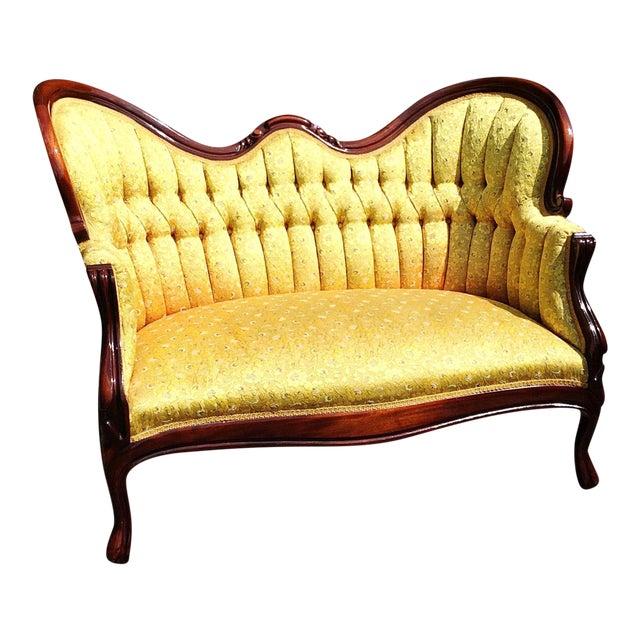 settee it tufted furniture guide skyline loveseat me