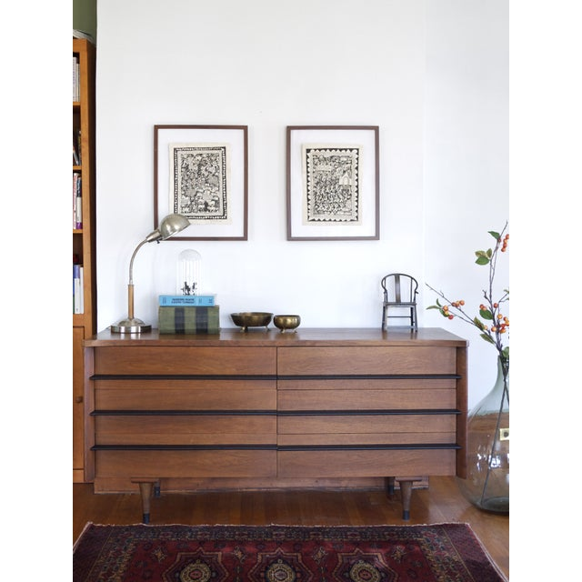 American of Martinsville Mid-Century Dresser For Sale - Image 7 of 7