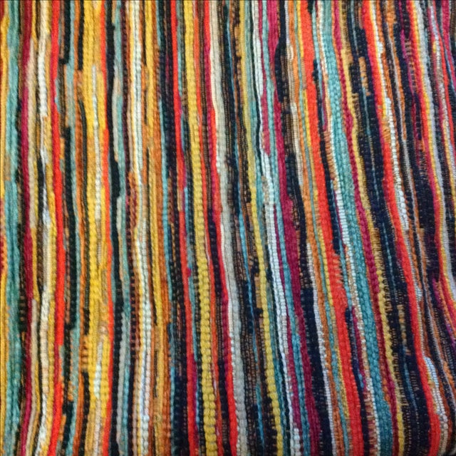 Multicolor Stripe Fabric by Jonathan Louis - 14 Yds - Image 3 of 3