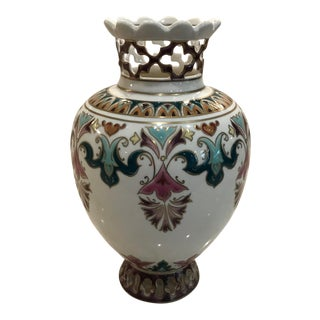 Zsolnay Vase, Signed and Numbered