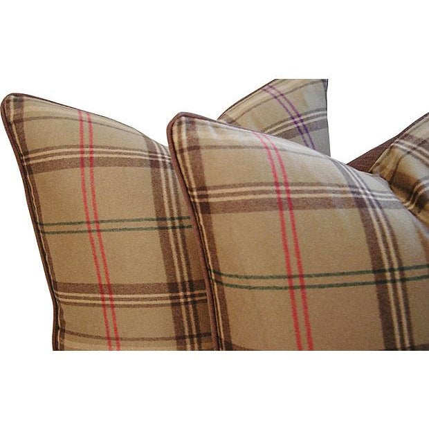 Ralph Lauren Wightwick Plaid Pillows - A Pair - Image 6 of 7