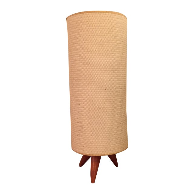 Mid Century Danish Tripod Lamp - Image 1 of 11