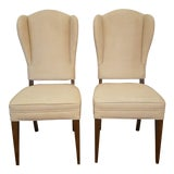 Image of 1950s Vintage Tommi Parzinger Mid Century Side Chairs- A Pair For Sale