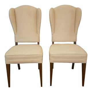 1950s Vintage Tommi Parzinger Mid Century Side Chairs- A Pair For Sale