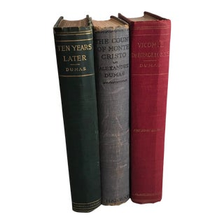 Vintage Dumas Books - Set of 3 For Sale