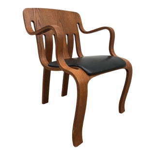 Late 20th Century Peter Danko Bentwood Chair For Sale