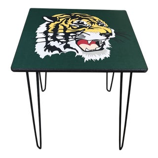 "1970s Americana ""Gucci"" Tiger Table For Sale"