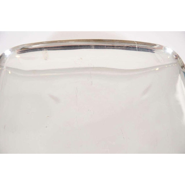 Silver Tommi Parzinger for Dorlyn Silver Plate Serving Tray For Sale - Image 8 of 8
