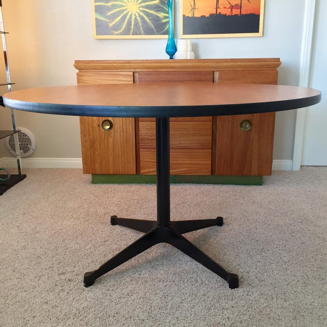 Herman Miller Eames for Herman Miller Contract Base Dining Table For Sale - Image 4 of 9