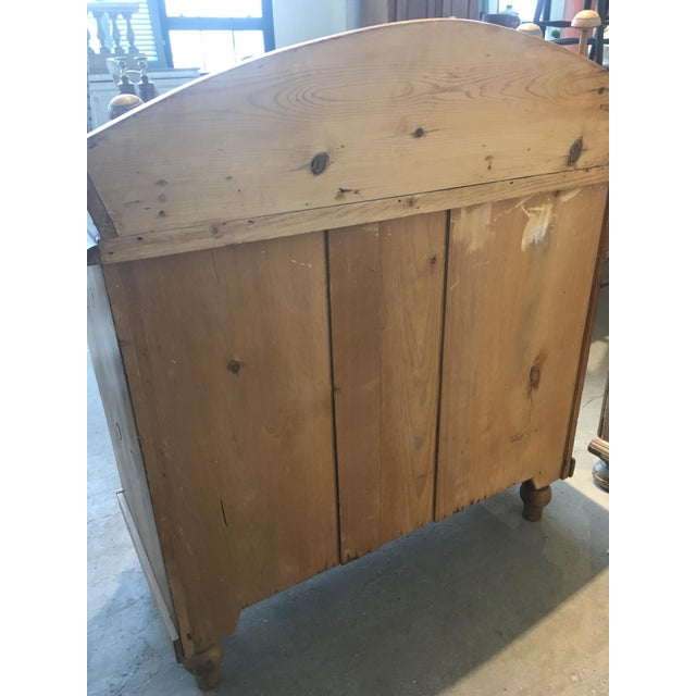 English Traditional English Antique Pine Chest of Drawers For Sale - Image 3 of 8
