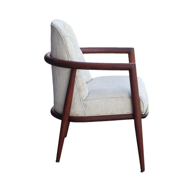 Mid-Century Modern T.H. Robsjohn-Gibbings for Widdicomb Armchair For Sale - Image 3 of 4
